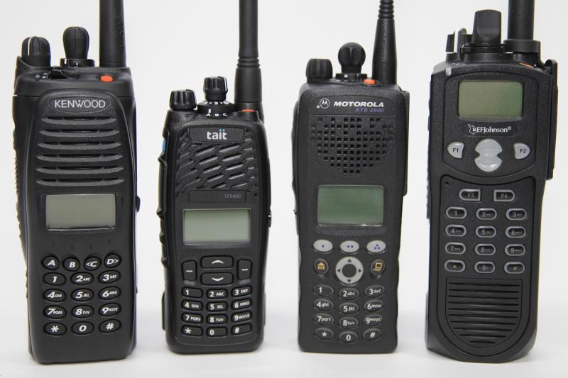 Profesional Portable Radios Used In Public Safety And Commercial Services